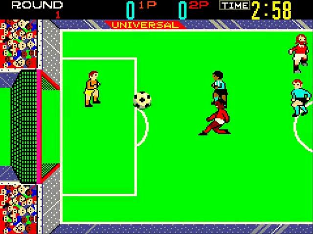 Indoor Soccer – Gameplay – arcade
