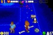 The Adventures of Jimmy Neutron Boy Genius vs. Jimmy Negatron - Gameplay - gba