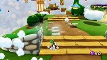Super Mario Galaxy 2 - Monde 3 - Moulins à nuages : Nuages au vent