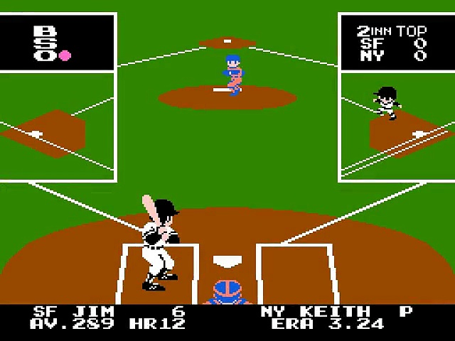 Bad News Baseball – Gameplay – nes