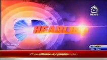 News Today Pakistan 29th October 2014 20-00 AAJ News Headlines 29-10-2014 (1)