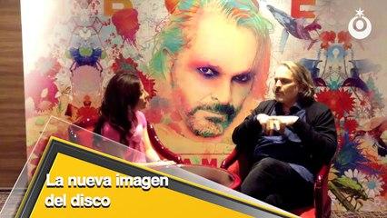 Miguel Bosé habla sobre su nuevo disco Amo