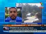 México: familiares de 43 normalistas desaparecidos se reúnen con EPN