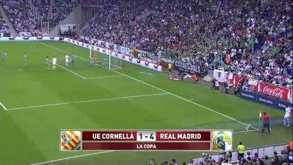 Cornellà 1 Madrid 4