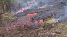 A waiting game as lava slowly threatens neighborhoods