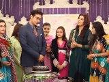 Faysal Quraishi Birthday Celebrations with Nida Yasir Good Morning Pakistan - ARY Digital [2014]