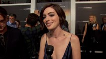 A Beautiful And Sexy Anne Hathaway Appears For 'Interstellar' Premiere