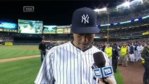 Jeter on walk-off single in final home game