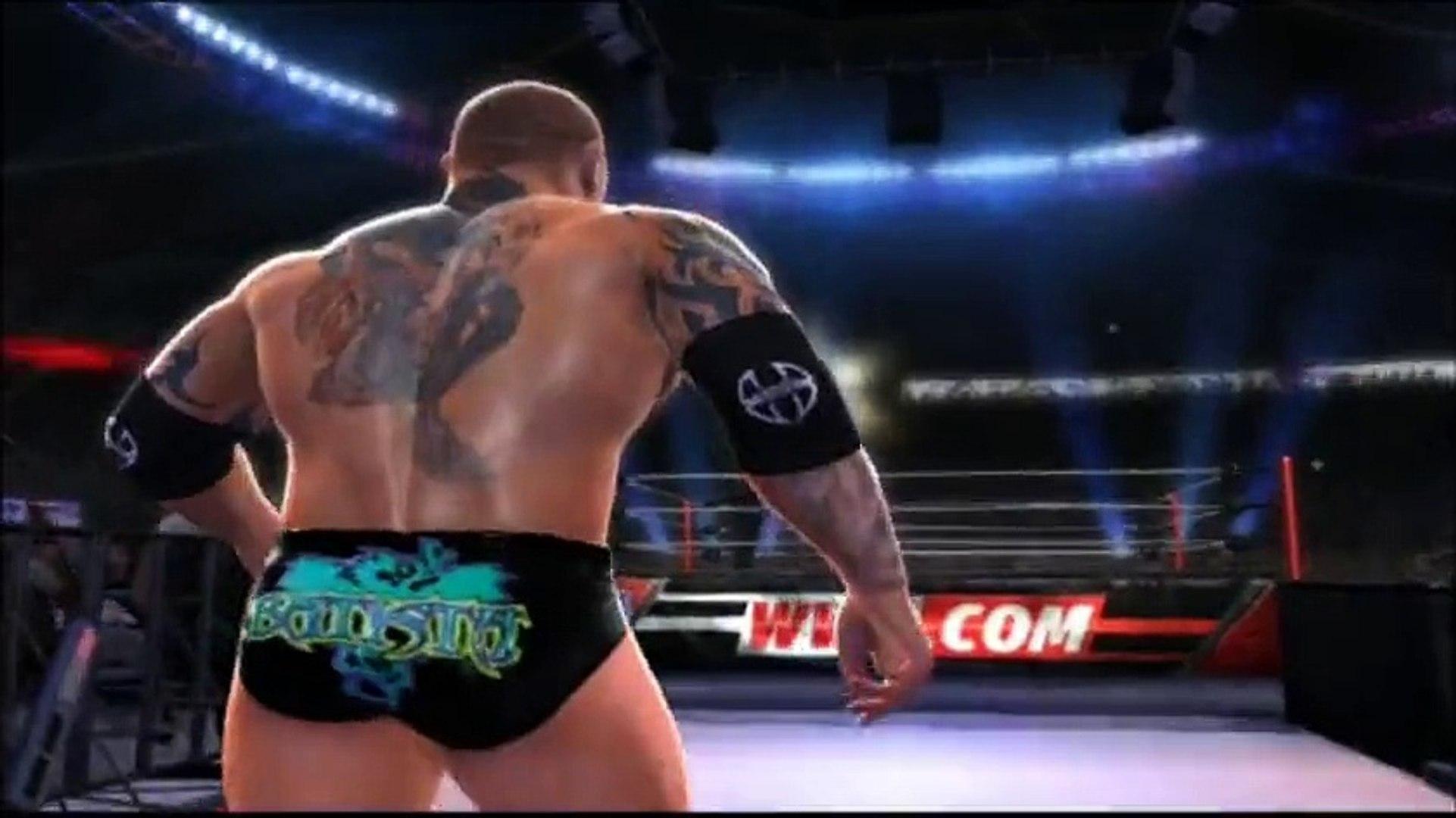 Hell in a Cell 2014 part 4 [Brock Lesnar vs Batista]