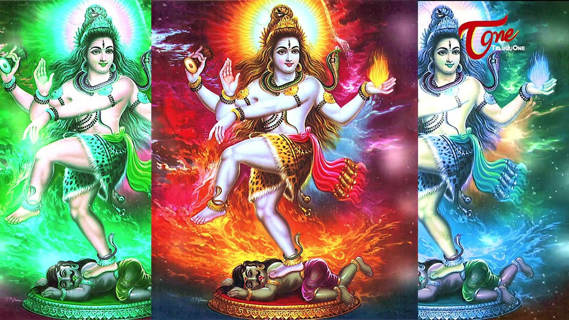 Shiva Thandavam in Telugu || Shri Marepalli Naga Venkata Shastri