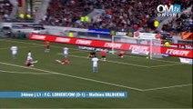 Lorient 0-1 OM : Le but de Valbuena