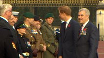 Prince Harry meets supporters of The Royal British Legion
