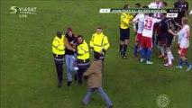 Ribéry attaqué par un supporter de Hambourg