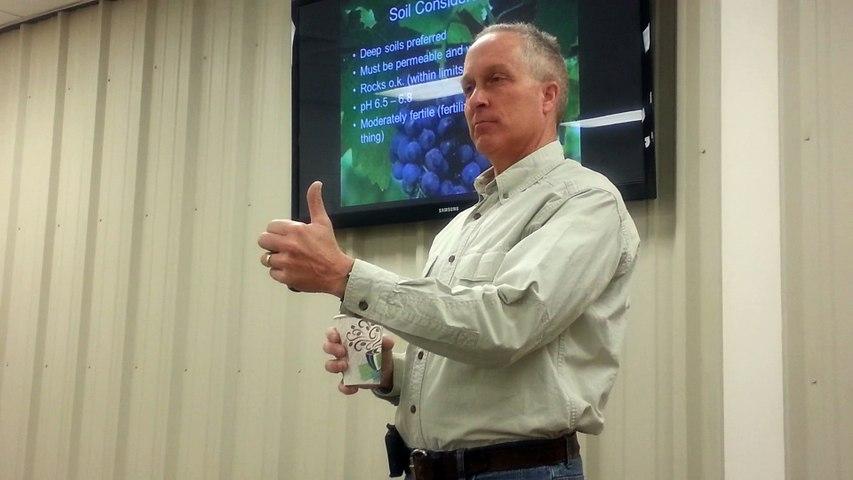 Soil Preparation and Fertilizing Grapes