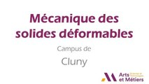 FUN-MOOC : Mécanique des solides déformables