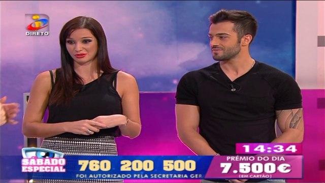 Mara Spínola e Fábio Machado no Sábado Especial - TVI 25/10/2014