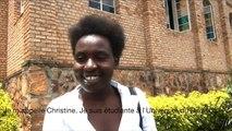 Christine Uwiragiye, étudiante et chanteuse de gospel