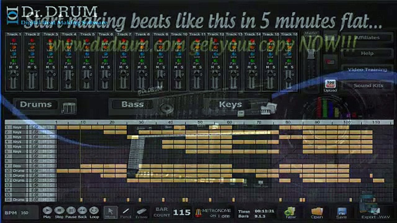 Making custom beats on any PC  Dr Drum review
