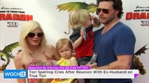 Tori Spelling Cries After Reunion With Ex-Husband On True Tori