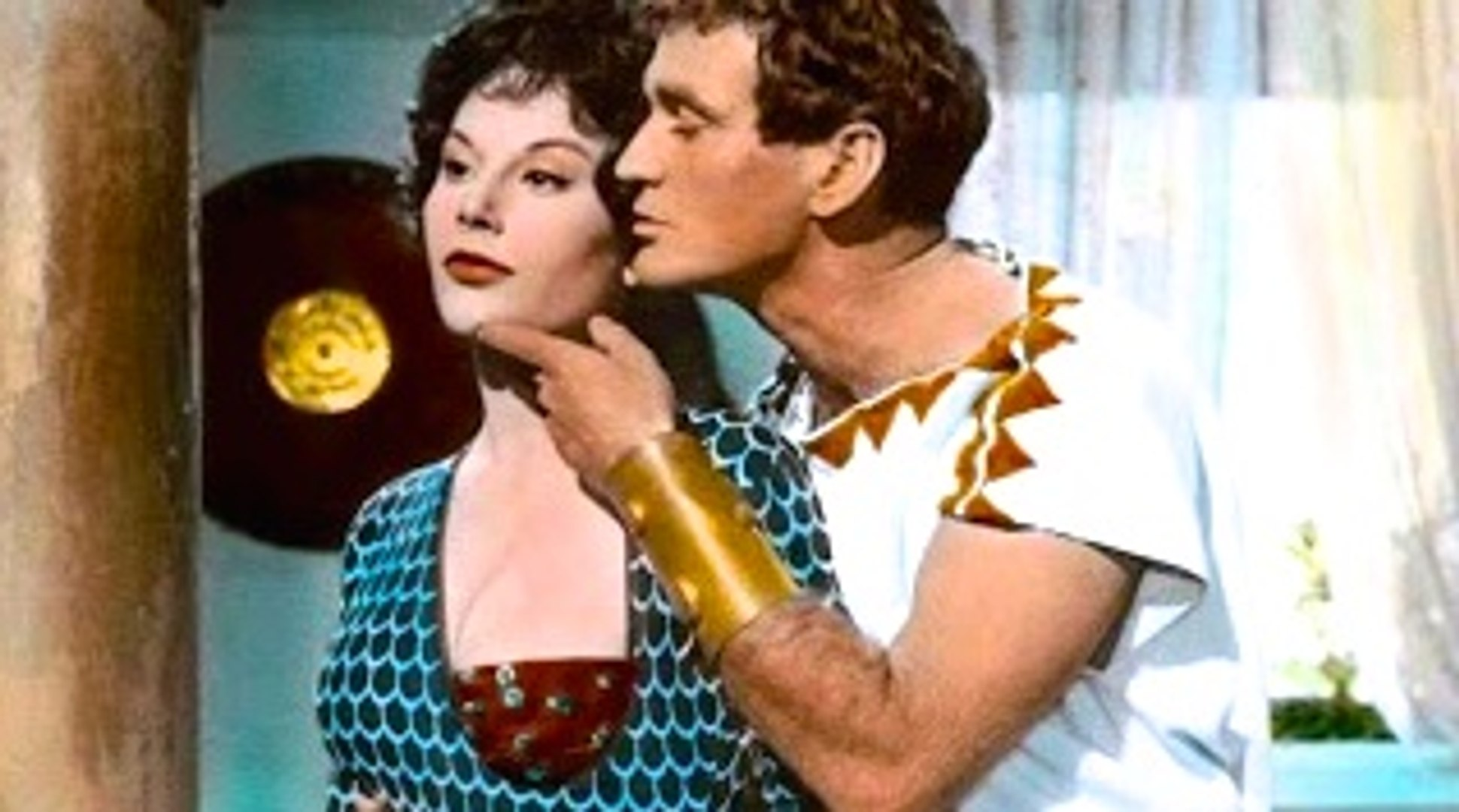 Amazon Queen Bleu colossus and the amazon queen (1960) rod taylor, ed fury, dorian gray.  sword and sandal