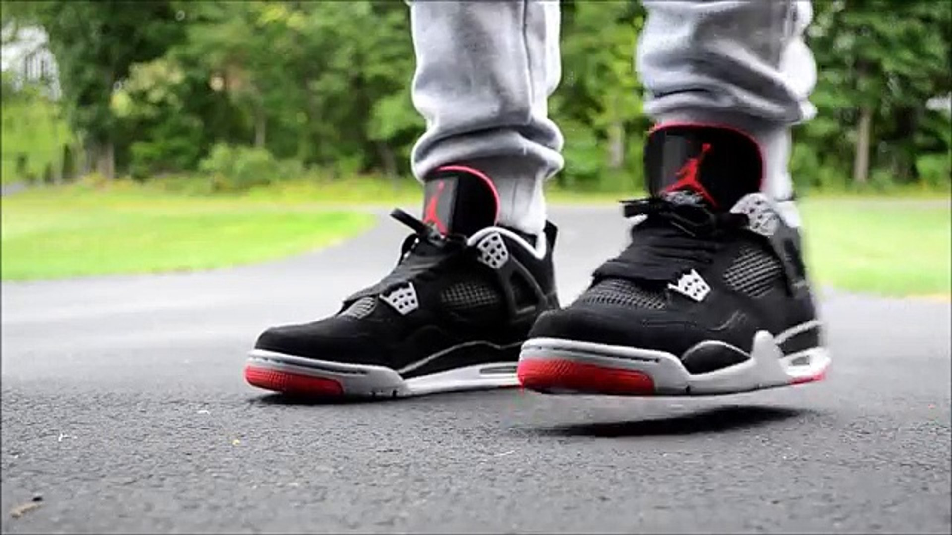Jordan Black On Air Feet Bred 4 0wP8OXnk