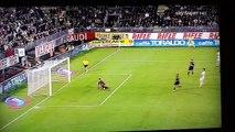 Cagliari 1-1 Milan spettacolare azione zemaniana