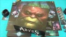 """Vidéorègle 375#: Les règles du jeu de société """"Abyss"""""""