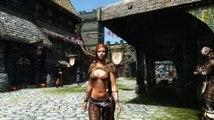 10 hours walking in Skyrim as a woman in skimpy armor