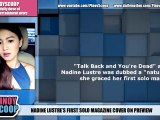 Nadine Lustre On Preview Magazine's Cover, Her First Solo Magazine Cover