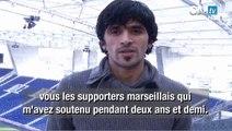 Le message de Lucho aux supporters