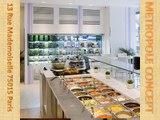 Concept de restaurants, sandwicheries, pizzeria, laboratoires, kiosques