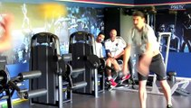 TRAINING SESSION - Pastore Lucas Marquinhos Verratti Cavani Ibrahimovic