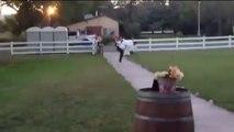 بالفيديو.. لحظة -مؤلمة- لعروسين في ليلة الزفاف - العربية.نت - الصفحة الرئيسية