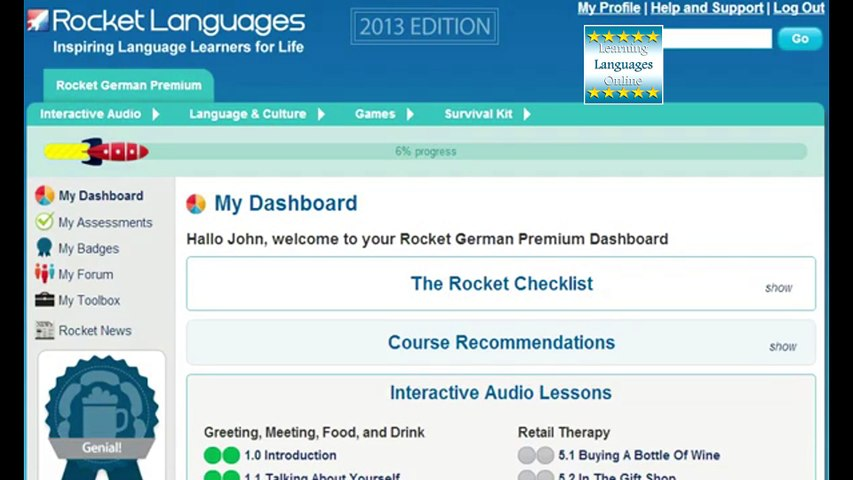 Rocket German Review. How To Learn German Online