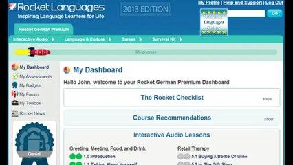 Rocket German Review. How To Learn German Online