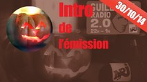 Intro de l'émission Guillaume Radio 2.0 en mode halloween sur NRJ !!