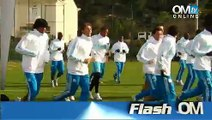 Flash OM avant OM-Montpellier