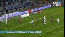 OM 2-1 Sochaux : le but de Lucho Gonzalez (61e)