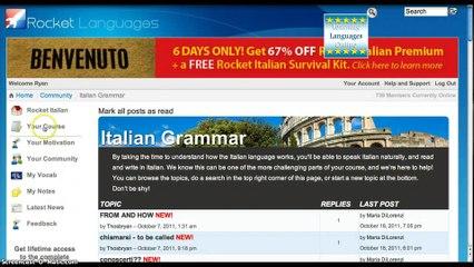 Rocket Italian Review. How to Learn Italian Online Easy