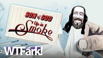SON OF GOD, UP IN SMOKE: Fresno Locals See Face Of Jesus In House Fire Smoke. Jesus Wonders What They've Been Smoking.