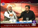 Hot Debate Between Fayyaz-ul-Hassan Chohan(PTI) and Maulana Ameer Zaman(JUIF)