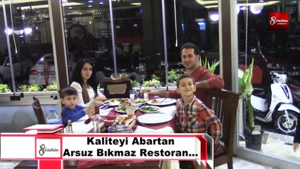 Kaliteyi Abartan Arsuz Bıkmaz Restoran… 8gunhaber