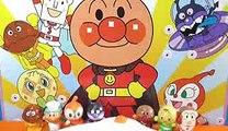 anpanman toys cartoon surprise eggs アンパンマン おもちゃでアニメww  びっくらたまご大浴場