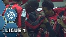 But Grégoire PUEL (51ème) / OGC Nice - Olympique Lyonnais (1-3) - (OGCN - OL) / 2014-15