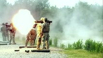 Slow Motion Heavy Weapons shot : Grenade Launcher, rocket launcher, heavy guns!