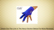 Blue High Quality Cuetec Billiard Glove Pool Accessory for Billiard Cue Stick Left Hand Glove, Buy-3-get-1-free Review