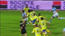 TOP14 - Bayonne-Clermont: Essai Martin Bustos Moyano (BAY) - J10 - Saison 2014/2015