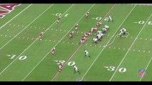 Tableau Noir football américain-Option écran des Eagles
