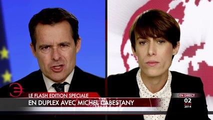 Duplex avec Michel Cabestany - Edition spéciale du Flash Télévisé - 13h le Dimanche