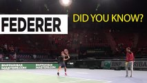 Did you know with Roger Federer